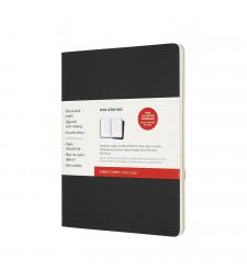 Набір зошитів Moleskine Cahier Subject великий Чорний / Беж