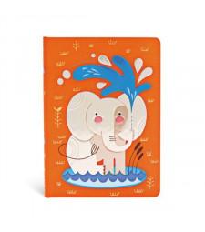 Записник Paperblanks Наші друзі тварини - Слоненя / середній Лінійка