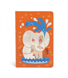 Записник Paperblanks Наші друзі тварини - Слоненя / кишеньковий Лінійка