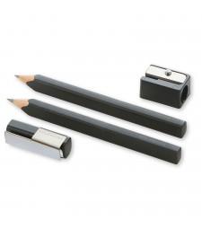 Набір Moleskine 2 олівці та точилка