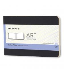 Альбом Moleskine Art Для нарисів кишеньковий Чорний