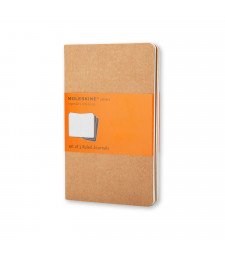 Набір зошитів Moleskine Cahier кишеньковий Лінійка Беж