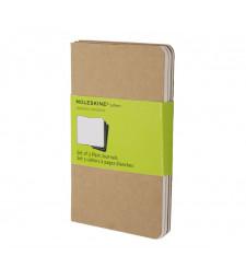 Набір зошитів Moleskine Cahier кишеньковий Нелінований Беж