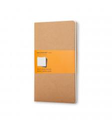Набір зошитів Moleskine Cahier середній Лінійка Беж