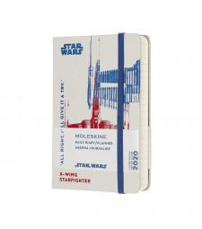 Щоденник Moleskine 2020 Star Wars кишеньковий