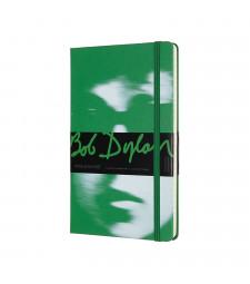 Записник Moleskine Bob Dylan середній Лінійка Зелений