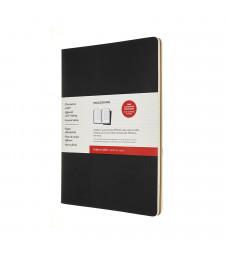 Набір зошитів Moleskine Cahier Subject А4 Чорний / Беж