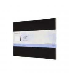 Блок Акварельних Листів Moleskine Art 23x31 см Чорний