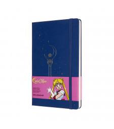Записник Moleskine Sailor Moon середній Лінійка Синій