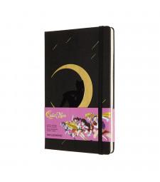 Записник Moleskine Sailor Moon середній Лінійка Чорний