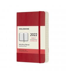 Щоденник Moleskine 2022 кишеньковий Червоний М'який