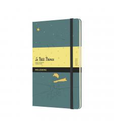 Записник Moleskine Le Petit Prince середній Лінійка Зелені водорості