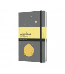 Записник Moleskine Le Petit Prince середній Нелінований Сірий