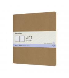 Альбом Moleskine Art Для нарисів квадратний Беж