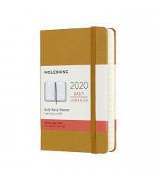 Щоденник Moleskine 2020 кишеньковий Стиглий Жовтий