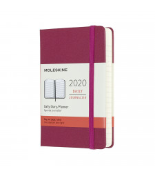 Щоденник Moleskine 2020 кишеньковий Вишуканий Рожевий
