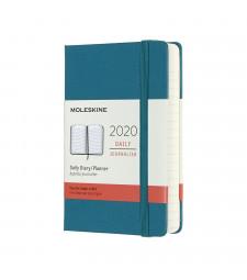 Щоденник Moleskine 2020 кишеньковий Магнетичний Зелений