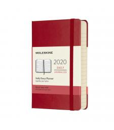 Щоденник Moleskine 2020 кишеньковий Червоний
