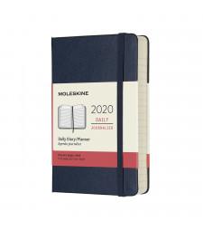 Щоденник Moleskine 2020 кишеньковий Сапфір
