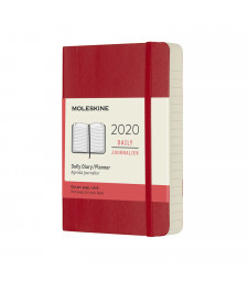 Щоденник Moleskine 2020 кишеньковий Червоний М'який
