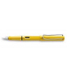 Чорнильна Ручка Lamy Safari Жовта F / Чорнила T10 Сині