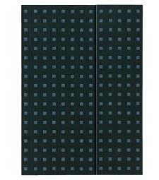 Записник Paper-Oh Quadro B5 Нелінований Чорний на Сірому