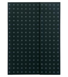 Записник Paper-Oh Quadro B6 Лінійка Чорний на Сірому