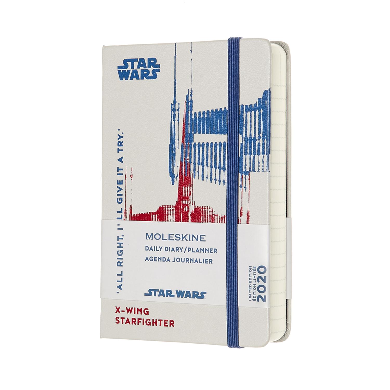 Щоденник Moleskine 2020 Star Wars кишеньковий / Білий