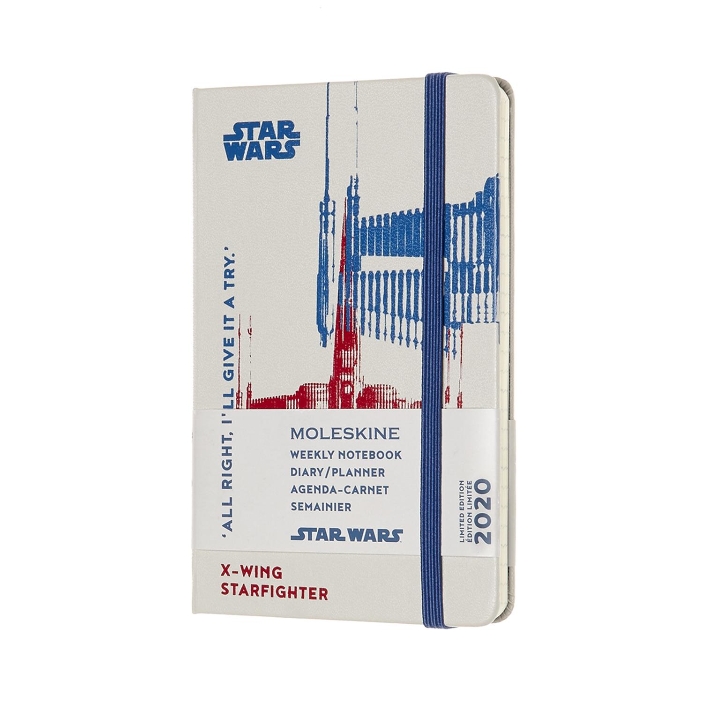 Щотижневик Moleskine 2020 Star Wars кишеньковий / Білий