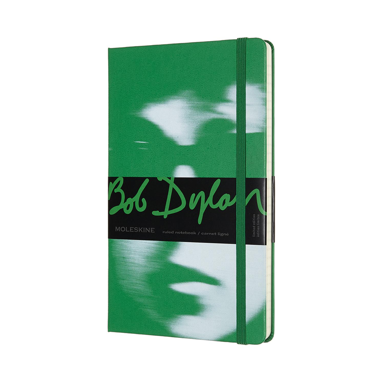 Записник Moleskine Bob Dylan середній / Лінійка Зелений
