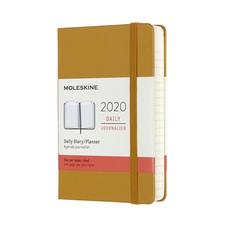 Щоденник Moleskine 2020 кишеньковий / Стиглий Жовтий