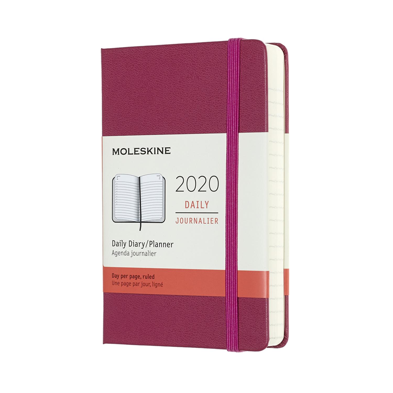 Щоденник Moleskine 2020 кишеньковий / Вишуканий Рожевий