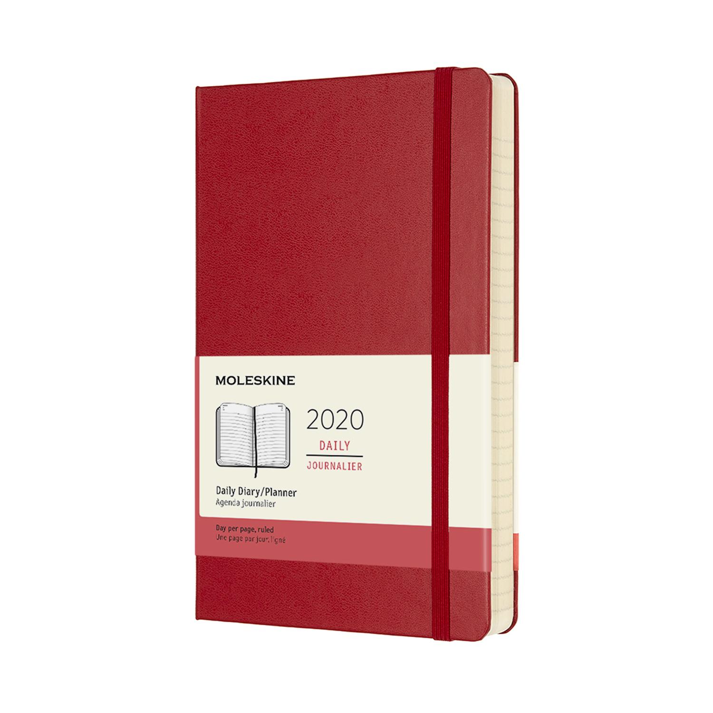 Щоденник Moleskine 2020 середній / Червоний