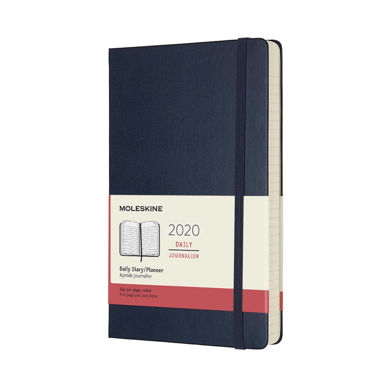 Щоденник Moleskine 2020 середній / Сапфір