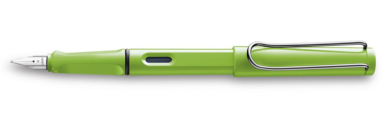 Чорнильна Ручка Lamy Safari Зелена F / Чорнила T10 Сині [013]
