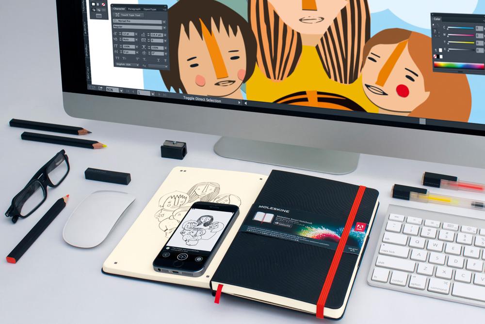 Moleskine Adobe Creative Cloud Connected